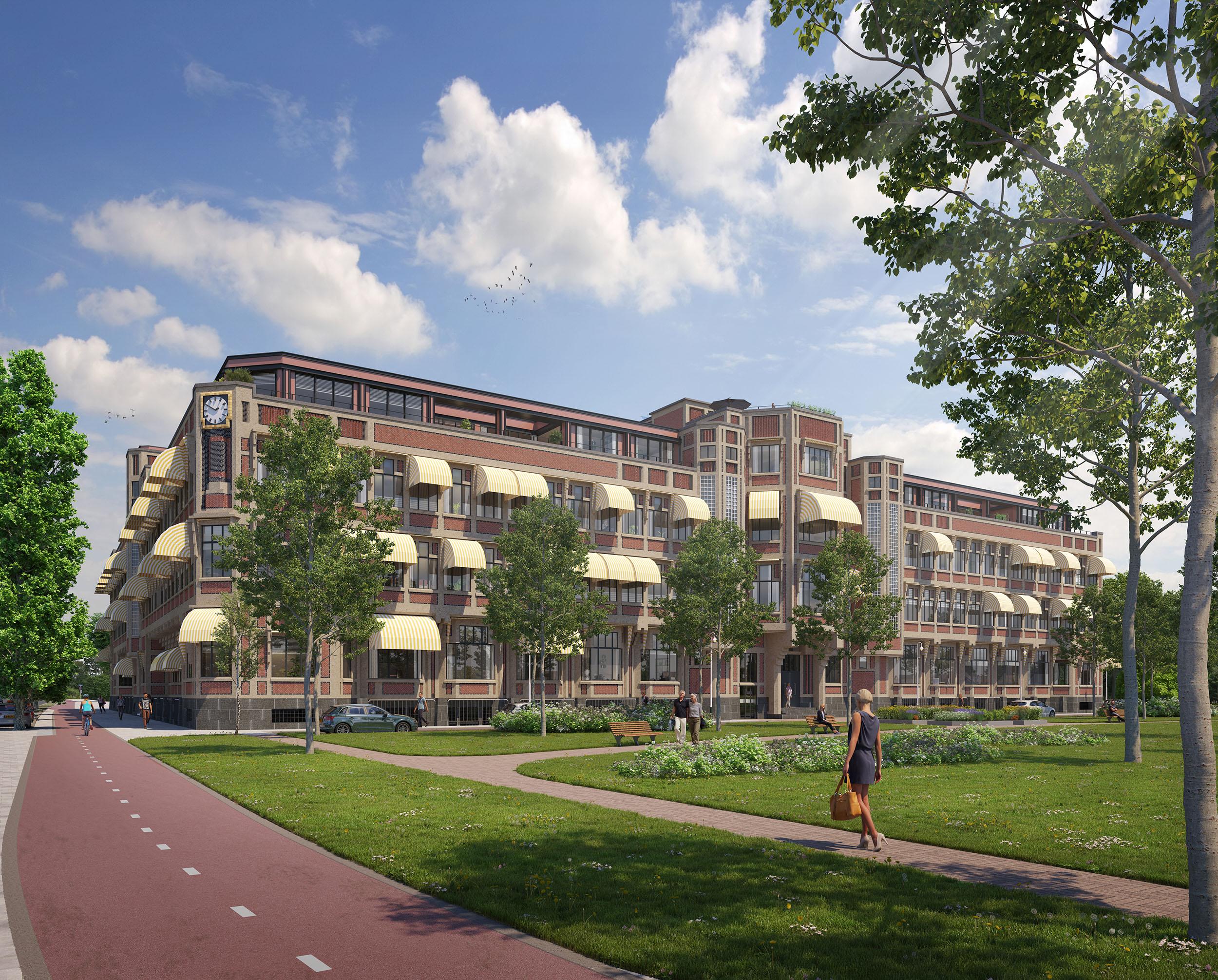 Architectenbureau Den Haag : Het berlagehuis den haag braaksma roos
