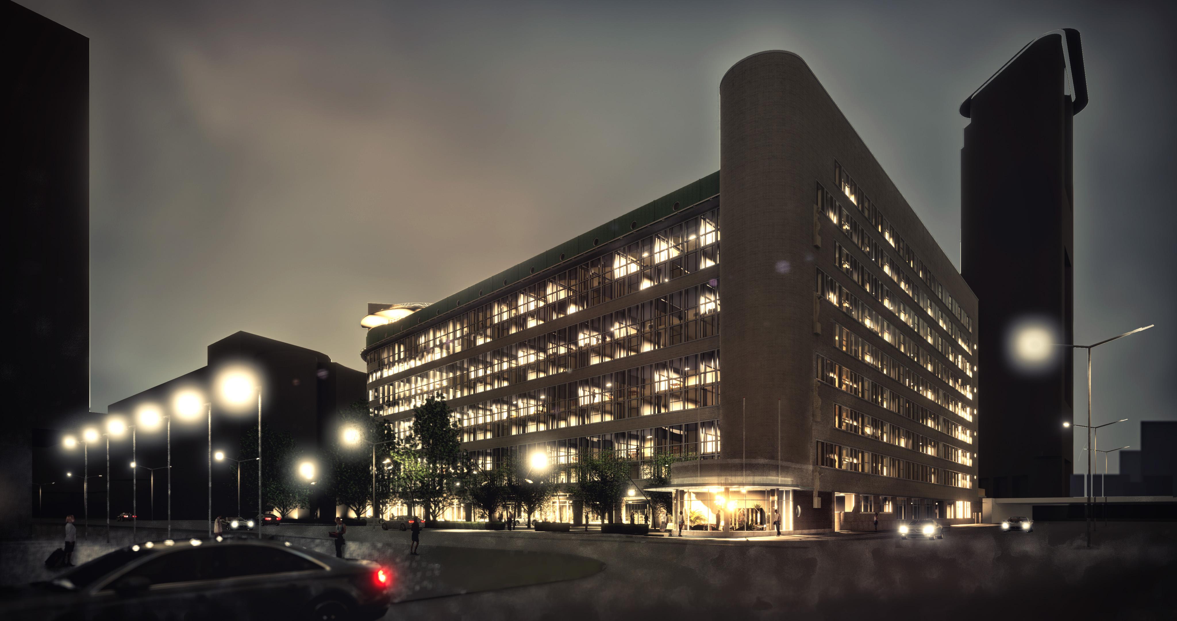 Architectenbureau Den Haag : Stationspostgebouw den haag braaksma roos